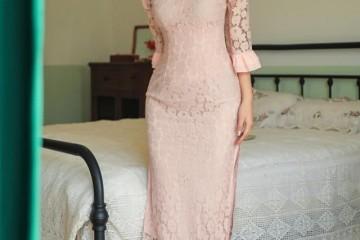 奔三的女人穿衣要讲究点气质今年流行穿旗袍优雅高级还显瘦
